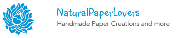 NaturalPaperLovers – Handmade Paper Creations and more